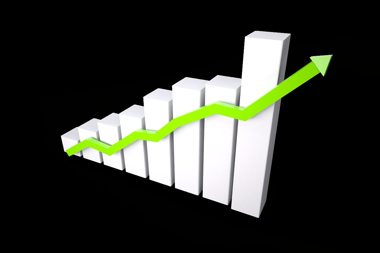 investimenti a breve termine freccia su