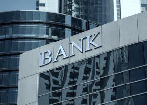 facciata di una banca