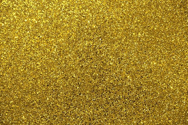 investire in oro con le azioni luccicante