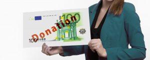 trasferimento denaro contante donazione