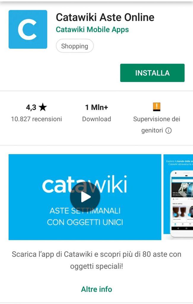 aste settimanali di gioielli catawiki app