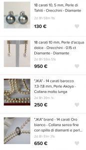 aste settimanali di gioielli catawiki