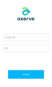 app axerve per smartphone
