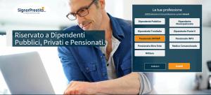 prestito per dipendenti pubblici e pensionati INPS ed ex INPDAP