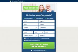 ottieni un preventivo con convenzione pensionati